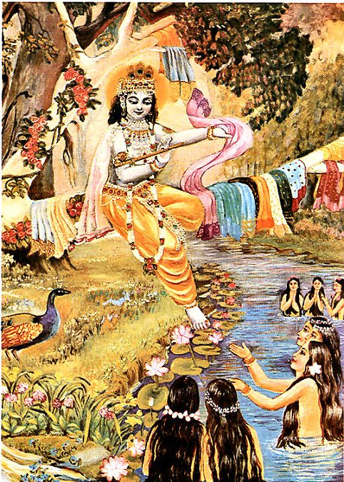 WHY DID KRSNA STEAL THE GOPIS CLOTHES?